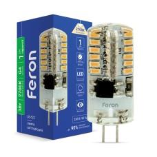 Світлодіодна лампа Feron LB-522 3W 230V G4 2700K