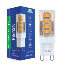 Світлодіодна лампа Feron LB-432 4W G9 4000K