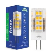 Світлодіодна лампа Feron LB-423 4W 230V G4 4000K