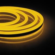 Світлодіодна неонова стрічка Feron LS720 120SMD/м 220V IP65 жовтий
