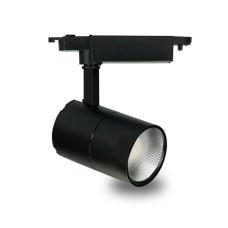 Трековий світильник Feron AL103 30W 6500К чорний