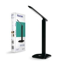 Настільний світлодіодний світильник Feron DE1733 чорний