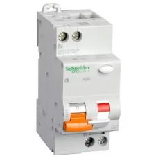 Диференційний автоматичний вимикач Schneider Electric АД63 2P 25A 30mА