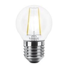 Філаментна лампа Maxus FM G45 4Вт 4100K 220В E27 (1-LED-546-01)