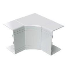 Кут внутрішній незмінюваний 100x40 NIA (90°), колір білий RAL9001