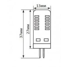 Лампа LED 2.5Вт LedEX 3000К 220В, G4