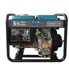 Дизель генератор KS 8000 DE ATSR, Könner&Söhnen 6,5кВт