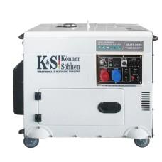 Генератор KS 9200 HDE-1/3 ATSR, Könner&Söhnen 7,5кВт