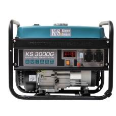 Газобензиновий гібридний генератор KS 3000G, Könner&Söhnen 3кВт