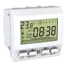 Термостат тижневий програмований Schneider Electric білий