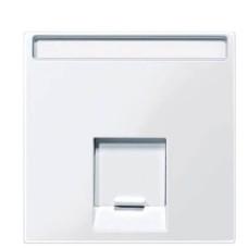 Центральна панель комп'ютерної розетки полярно-білий Merten, MTN469819
