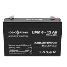 Акумулятор AGM LPM 6-12 AH