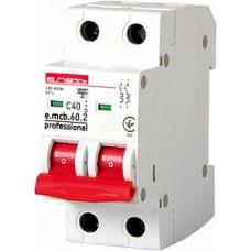 Модульний Автоматичний вимикач E.NEXT e.mcb.pro.60.2.C