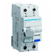 Диференційний автоматичний вимикач Hager AD970J 20 А 1+N,