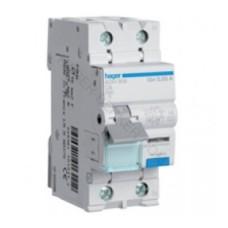 Диференційний вимикач Hager AD940J 40A 1+N