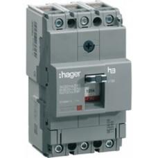 Автоматичний вимикач Hager x160, In=40А, 3п, 25kA