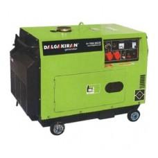 Дизель генератор 7 кВт, Dalgakiran, DJ7000DG-EC