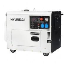 Генератор 5 кВт, Hyundai, DHY 6000SE та набір колес