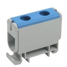 Силова ввідна клема IEK YZN12-050-K07 КВС 6-50мм² (синя)