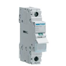 Вимикач навантаження Hager SBN163 1P 63А/230В 1м