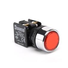 Натискна кнопка EMAS KB12DK (1НC) червона