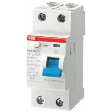 ПЗВ ABB F202 AC-40/0,1,40 А, 100 мА, AC