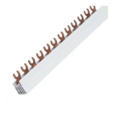 Шина сполучна 3P типу FORK (вилка) на 12 модулів, 10мм2,63A, Hager