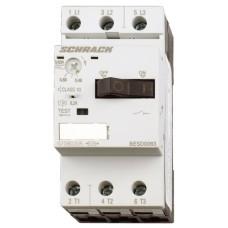Силовий автомат захисту двигуна Schrack BESD0800 50кА 8А клас 10 розмір 00
