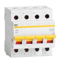 Вимикач навантаження IEK MNV10-4-040 ВН-32 4Р 40А