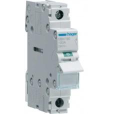 Вимикач навантаження Hager SBN180 1P 80А/230В 1м