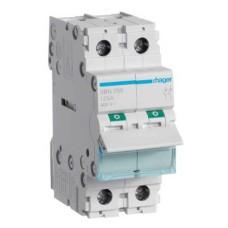 Вимикач навантаження Hager SBN299 2P 125А/400В 2м