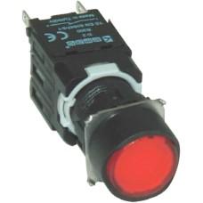 Натискна кнопка EMAS D200YDK (1НC) червона