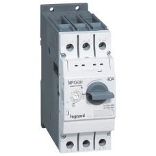 Автомат захисту електродвигуна MPX³ 63H 28,0-40,0A 50кА, Legrand