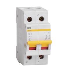 Вимикач навантаження IEK MNV10-2-063 ВН-32 2Р 63А