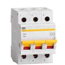 Вимикач навантаження IEK MNV10-3-063 ВН-32 3Р 63А