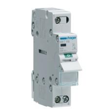 Вимикач навантаження Hager SBT116 1P (230В/16А) з індикацією