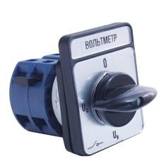 Кулачковий перемикач IEK BCS14-032-4 ПКП32-44/О 32А (Uc-O-Ua-Ub) 4Р/400В