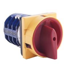 Кулачковий перемикач IEK BCS23-010-2 ПКП10-33/У 10А (1-0-2) 3Р/400В