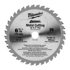 Диск для циркулярних пил MILWAUKEE 48404015 по металу Ø 165мм