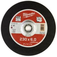 Шліфувальний диск по металу MILWAUKEE 4932451483 SG 27/230х6 (1шт)