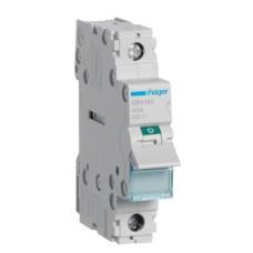 Вимикач навантаження Hager SBN140 1P 40А/230В 1м