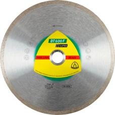 Алмазний диск по кераміці та керамограніту KLINGSPOR 125Х22.23 DT600F SUPRA