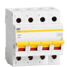 Вимикач навантаження IEK MNV10-4-063 ВН-32 4Р 63А