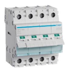 Вимикач навантаження Hager SBN480 4P 80А/400В 4м