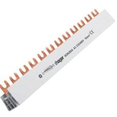 Фазна шина Hager KDN280A 2P 16мм² 12M