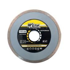 Алмазний диск Werk 115x5x22,2мм
