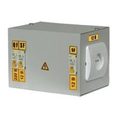 Ящик з трансформатором ЯТП-0,25 380/24-3 36 УХЛ4 IP30, IEK