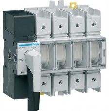 Модульний вимикач навантаження Hager HAE416 в 70мм² 4P 160А з видимим розривом