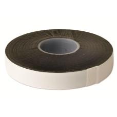 Самозліплювальна гумова стрічка 0,75x19мм чорна 10 метрів DKC