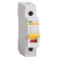 Вимикач навантаження IEK MNV10-1-025 ВН-32 1Р 25А
